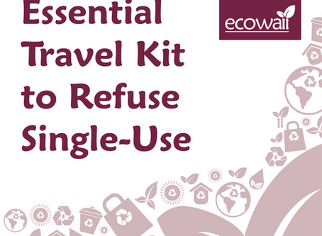Essential Travel Kit  to Refuse Single-Use
