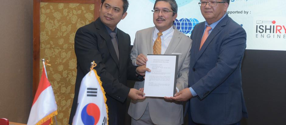 Signing MOA PT Envy Technologies Indonesia, Tbk & Hyundai BS&E