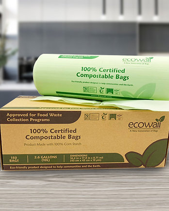 Ecowaii Compostable Bag