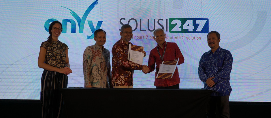 "ENVY & SOLUSI247 Meluncurkan  ""Indonesian Big Data  for Sustainable Well Being Initiative"""
