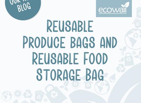 Reusable Produce and Reusable Food Storage Bag