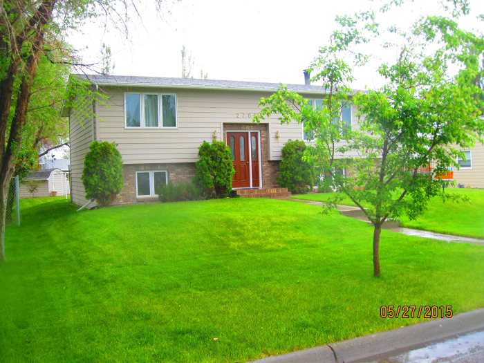 2707 Palmer, Miles City, MT. Front