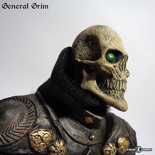Caveira Resina Black Knight busto