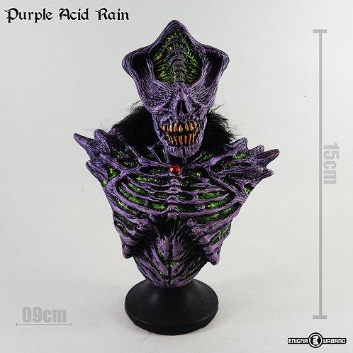 Caveira Skull Purple Acid Rain Enigma Urbano