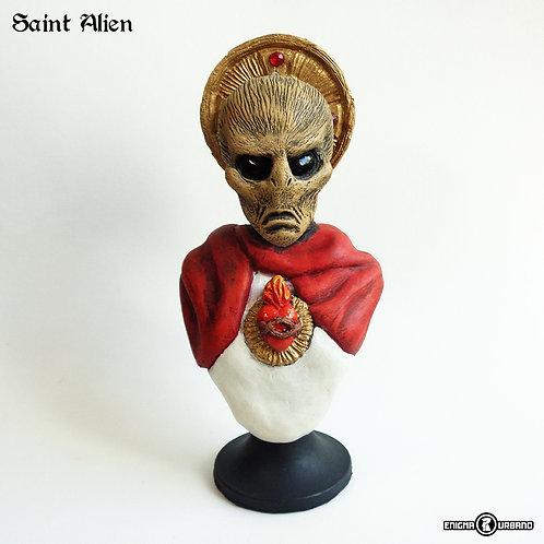 Alien santo Extraterrestre Busto Enigma Urbano Ufo Ovni
