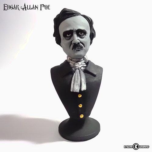 Edgar Allan Poe busto em resina