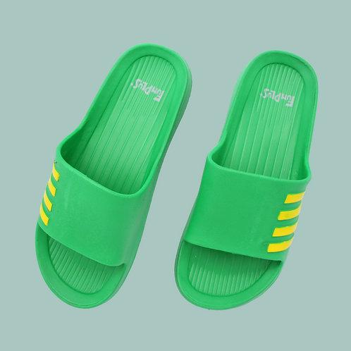 造型休閒室外拖鞋-綠
