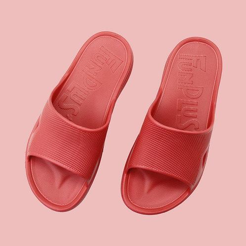 極簡格調室外拖鞋-紅