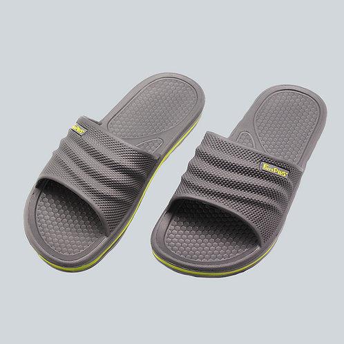 樂活休閒中性拖鞋-灰
