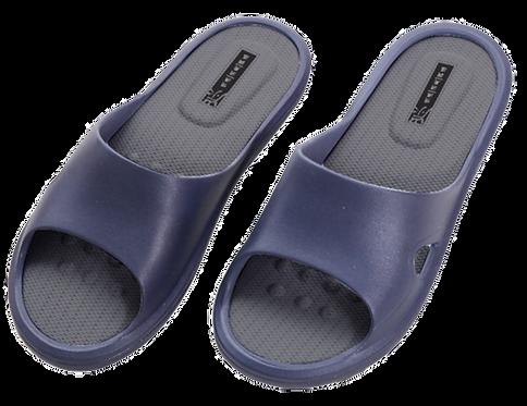 E加E乳膠進化拖鞋-深藍