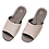 Thumbnail: 仿皮悠能室內皮拖鞋-米