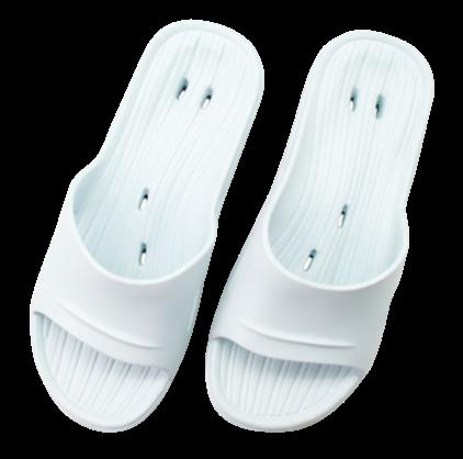 專利首創動態氣流家居鞋-水藍