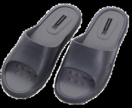 E加E乳膠進化拖鞋-鐵灰