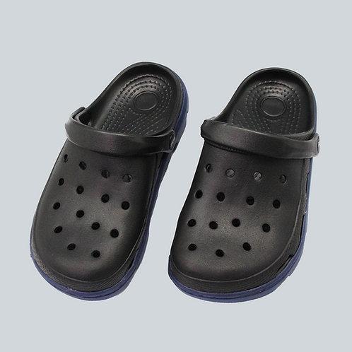 極簡俐落室外拖鞋-黑