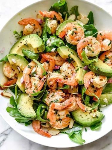 Citrus Shrimp Salad with Avocado