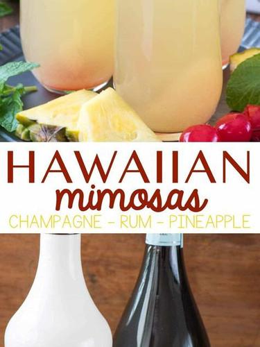 Hawaiian Mimosas