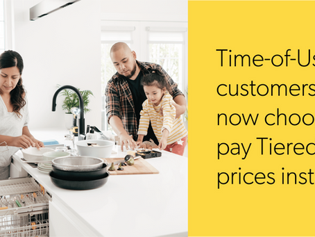 Electricity - Time-of-Use Customer Choice for Residential and Small Business Customers