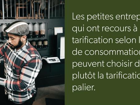 Électricité - Choix du client – Tarification selon l'heure de consommation