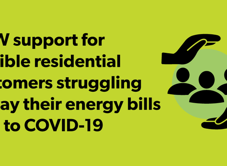 COVID-19 Energy Assistance Program For Residential Customers