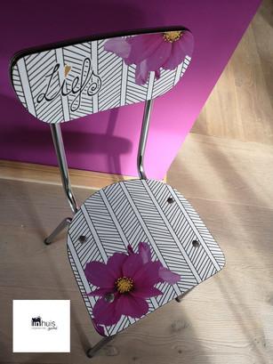 """Interieurprint voor stoel """"Liefs"""""""