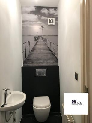 Muurprint toilet