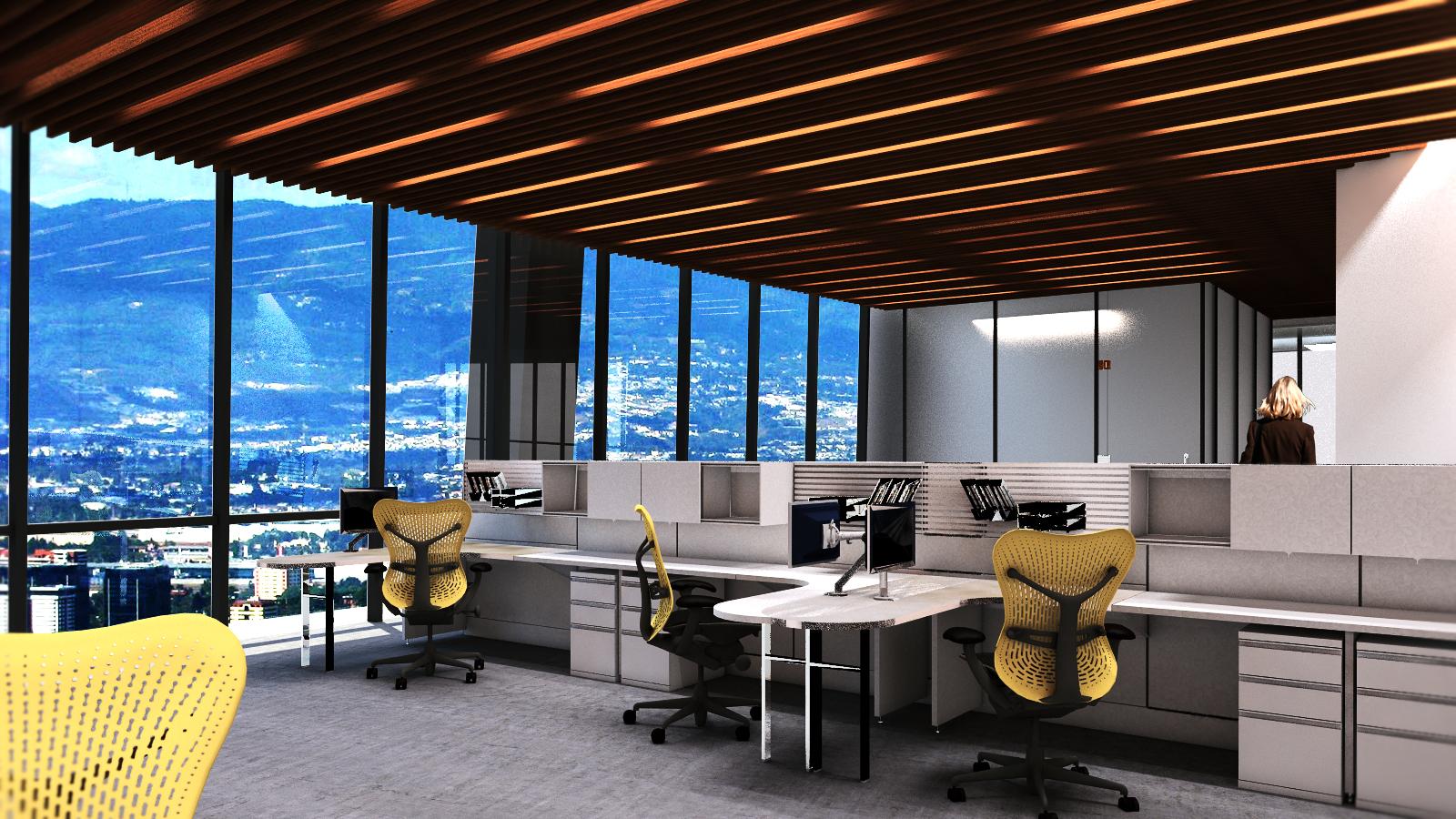 20 niveles de oficinas
