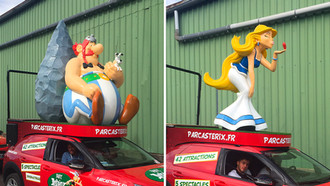 Parc Asterix, agence BBN