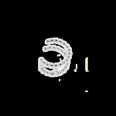 Piercing falso Plata