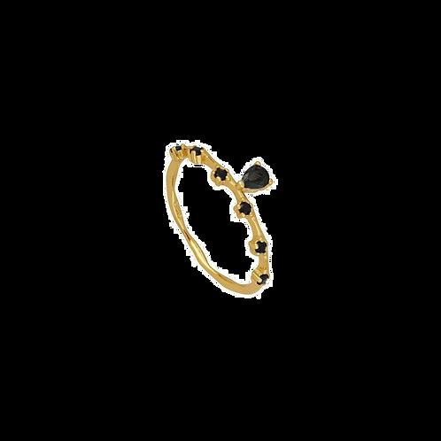 Modelo Lineola Negro Oro