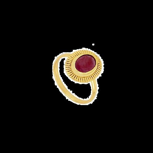Modelo Lolotis Magenta Oro