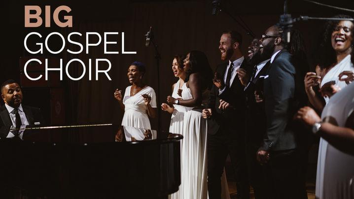 "BIG Gospel Choir ""Feel the Love"" Rudimental"