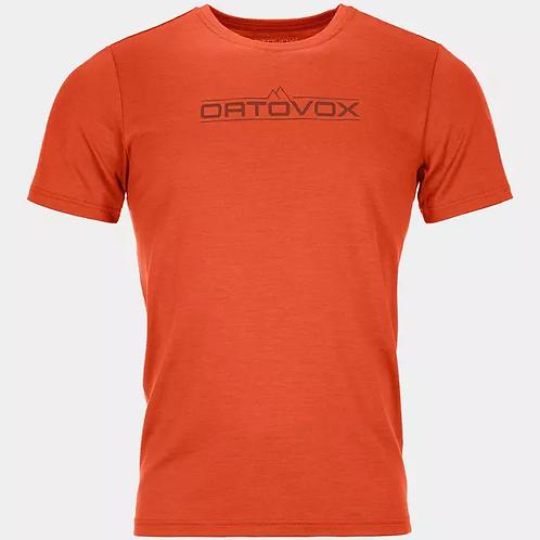 Ortovox 185 Mer 1St Logo Ts