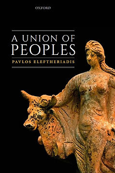 Eleftheriqdis A Union of Peoples Cover 2
