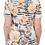Thumbnail: Haut en jersey à col rond et imprimé à fleurs