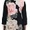 Thumbnail: Tunique à imprimé floral et ajourée au col