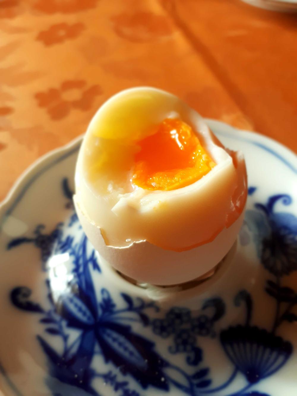 Bild 7: Das Ei ist weich gekocht