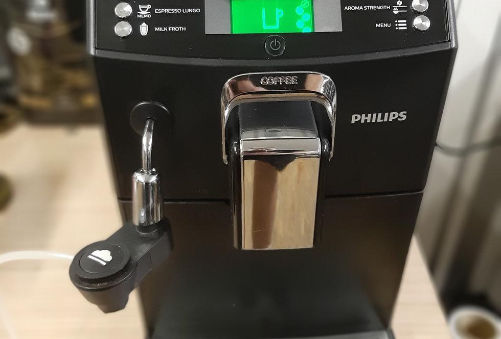 Кофемашина автомат Saeco Minuto Philips HD8844/01 Black 4000 series