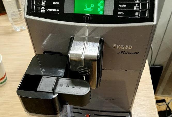 Кофемашина автомат Saeco Minuto Cappuccino HD8867