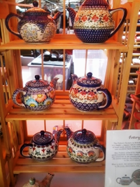Polish Stoneware Tea Pots