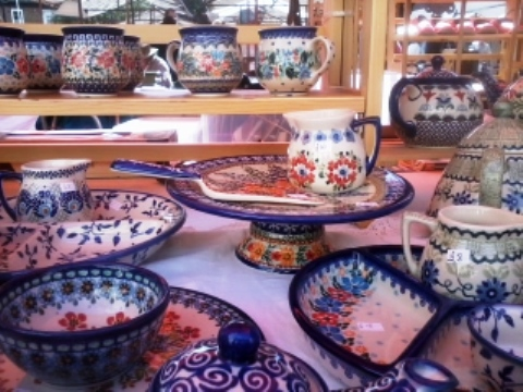 Boleslawiec pottery