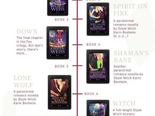 Doyle Witch Reading Order