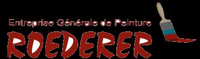 logo entreprise générale peinture ROEDERER