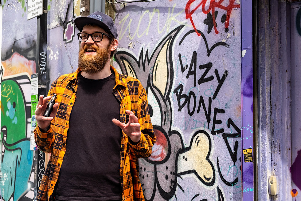 UK stand-up comedian Rob Mulholland