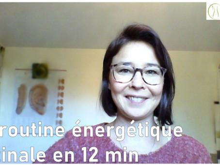 Ma routine énergétique matinale en 12 min