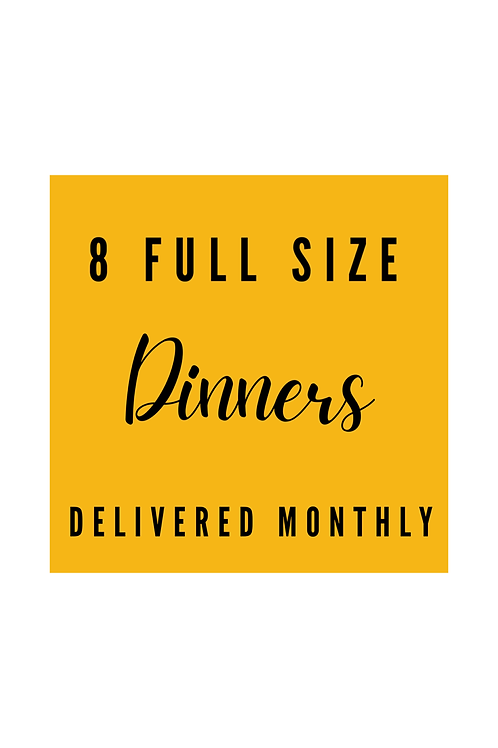 Dinner Crafts Delivery - Monthly
