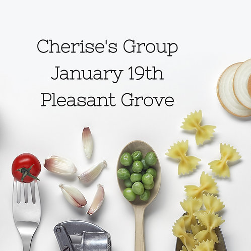 Cherise's Private Group -  January 19th