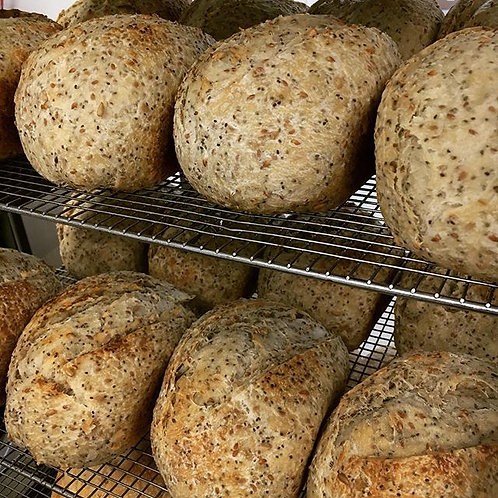 Cast Iron Bakery Seeded Sourdough Bread