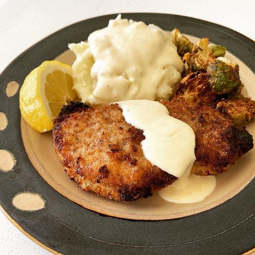 Lemon & Sage Pork Chops