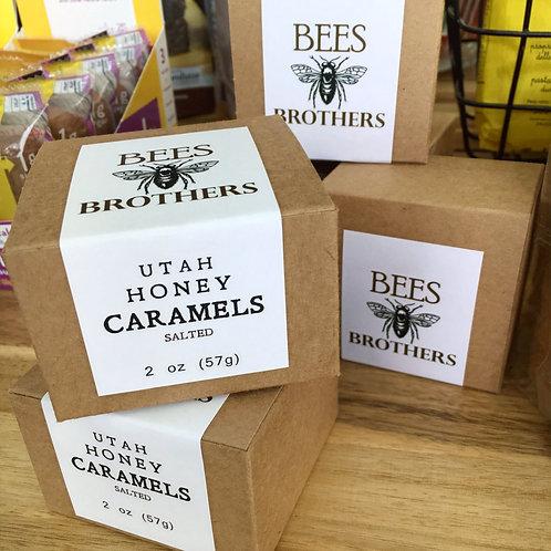 Bee's Brothers Utah Honey Caramels