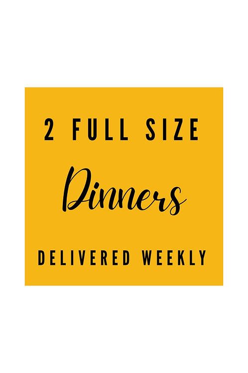 Dinner Crafts Delivery -  Full Size Weekly